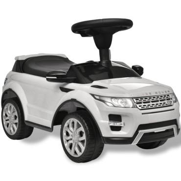 Land Rover 348 Παιδικό Ηλεκτροκίνητο Αυτοκίνητο με Μουσική Λευκό